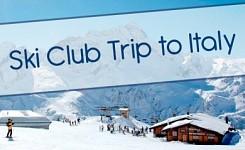 Ski Club Trip to Passo Tonale, Italy