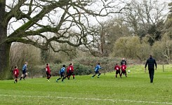 The Grove U9 Football vs Quinton House