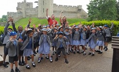 Cedar and Birch Visit Warwick Castle