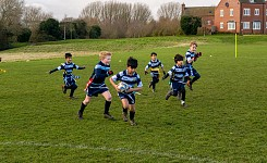 U8 Tag Rugby vs Broughton Manor