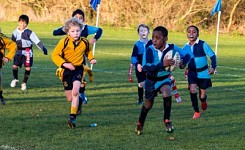 The Grove U8 Tag Rugby vs Beachborough School