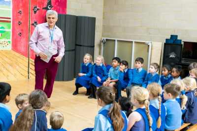 Baptist Minister meets Pre-Prep at The Grove