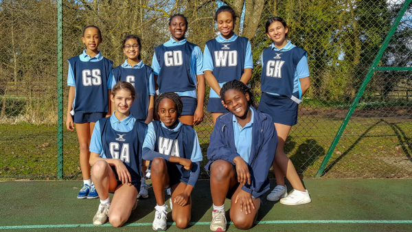 The Grove U12/13 Netball vs Beachborough School