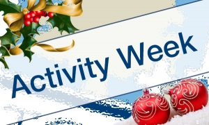 Christmas Activity Weeks 2016